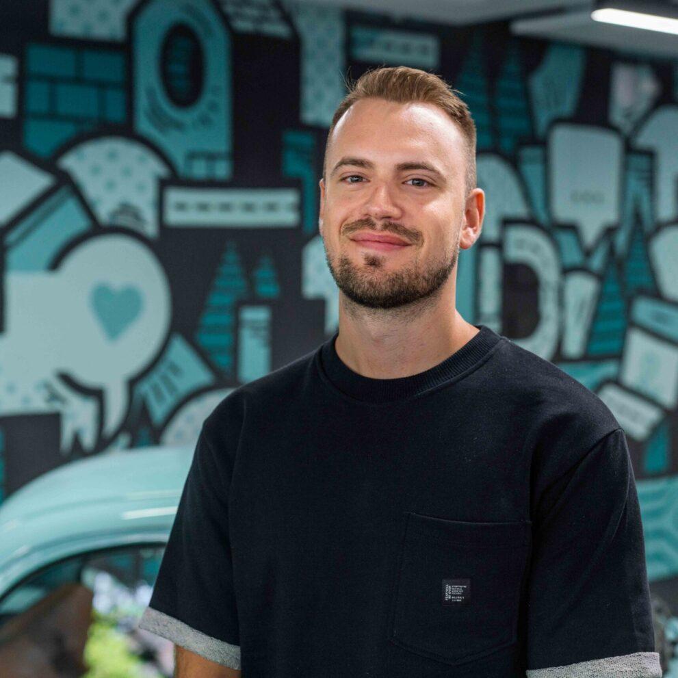 Portrait von ads&figures Mitarbeiter Simon Kobel 1