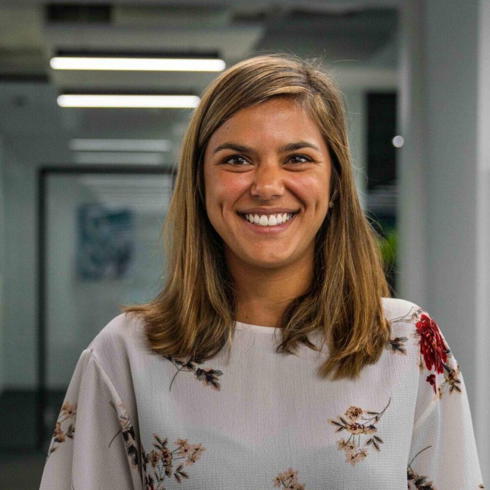Portrait von ads&figures Mitarbeiterin Tania Schober