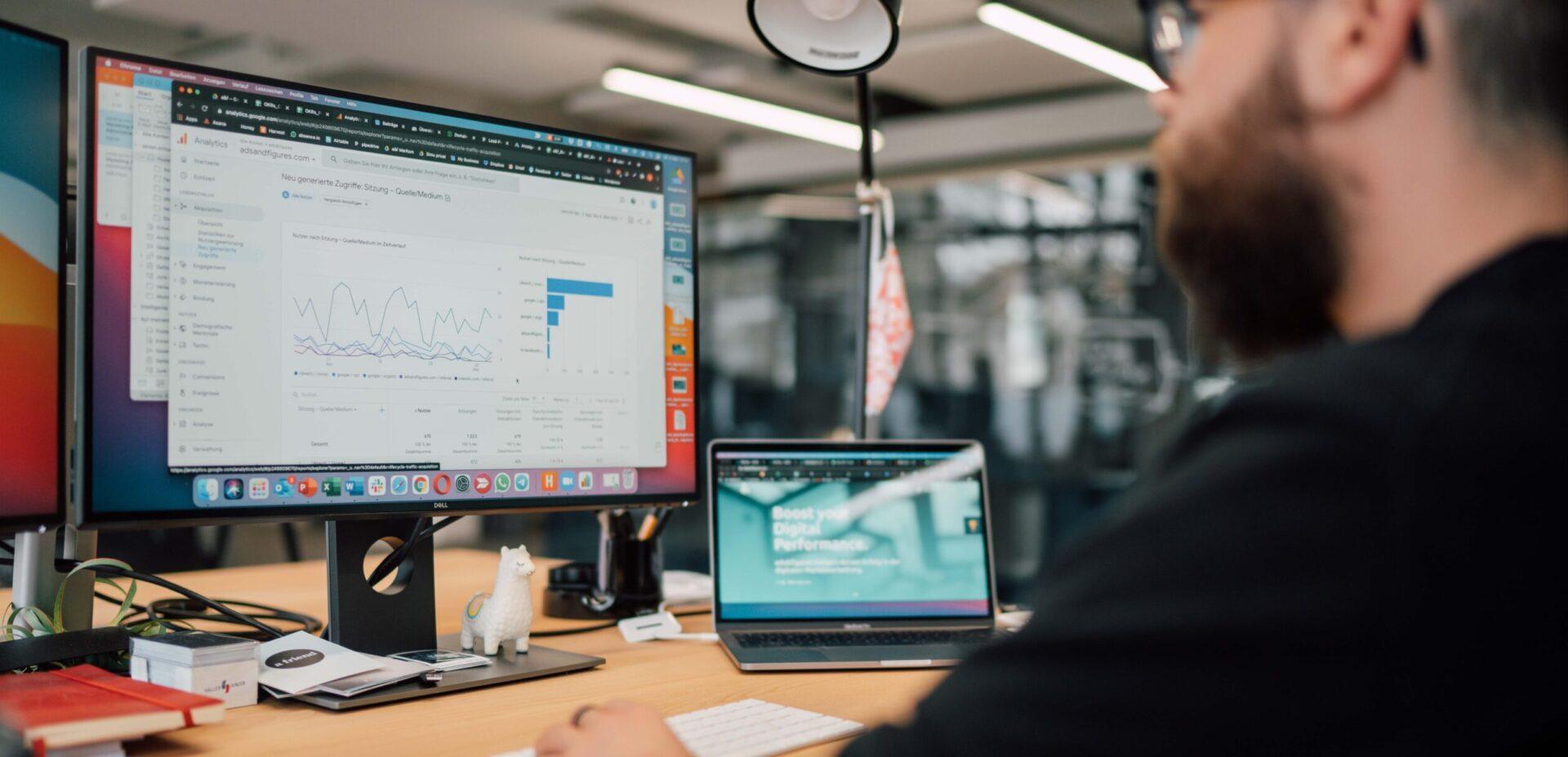 Search Engine Advertising SEA mit der Digitalagentur ads&figures