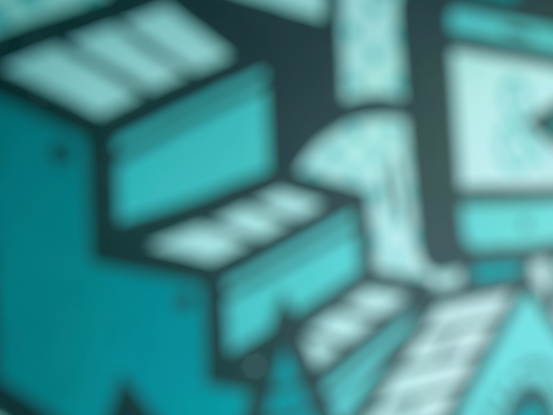 Verschwommener Hintergrund im ads&figures Büro