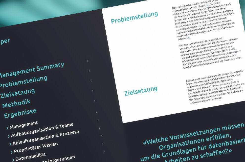 Whitepaper Datenbasiertes Arbeiten