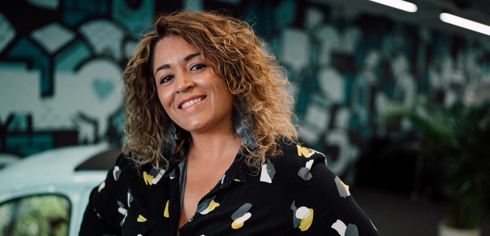 Ximena Barbano im Büro von ads&figures